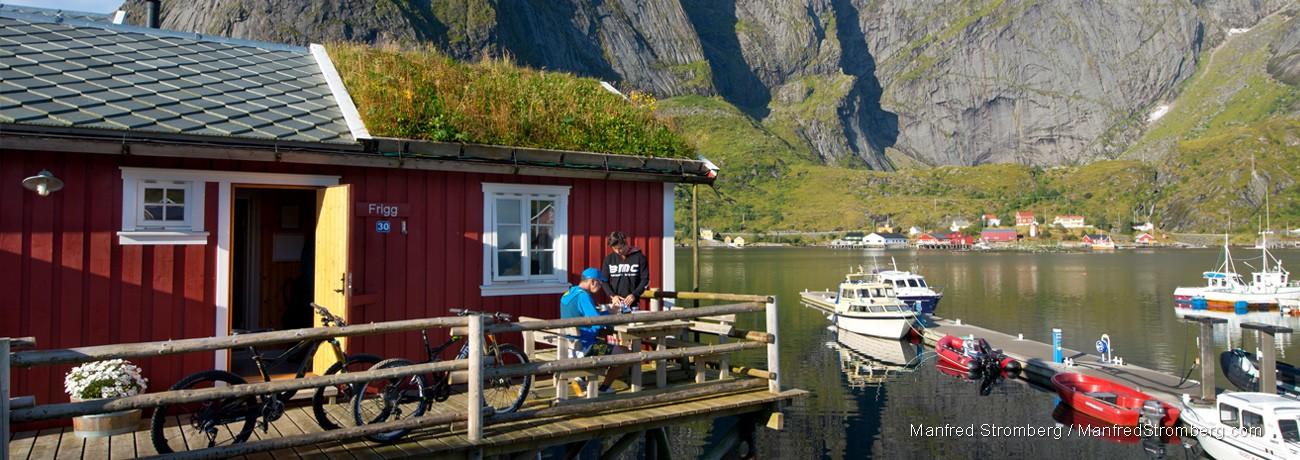 Casa madera noruega